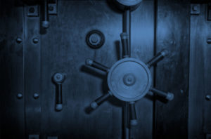 Vault Door Close Up
