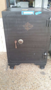 Antique Diebold Bankers Safe - Used Diebold