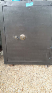 Small Antique Fire Safe - Used Fire Safe