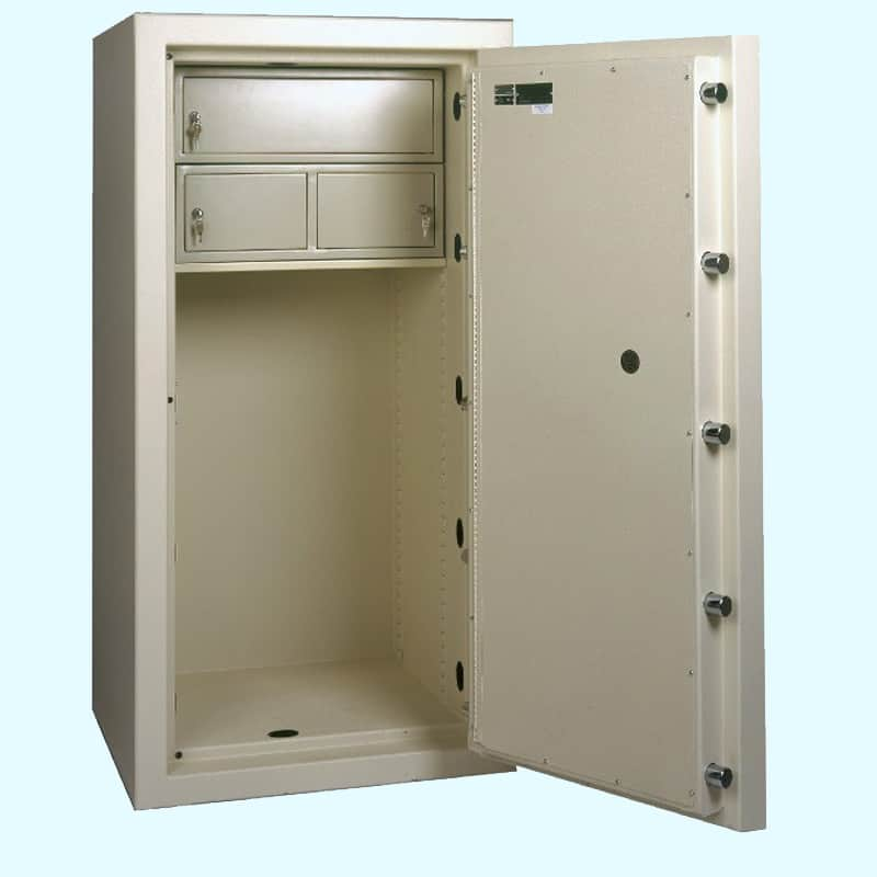 AMSEC High Security Jewelry Safe CF6528 Open