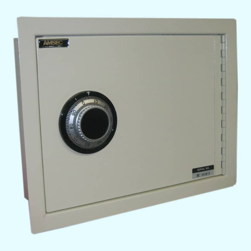 AMSEC Wall Safe WS1014 Closed