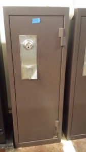 used brown amsec gun safe empty