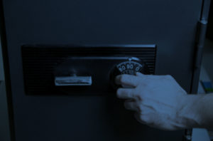 Hand Unlocking Safe