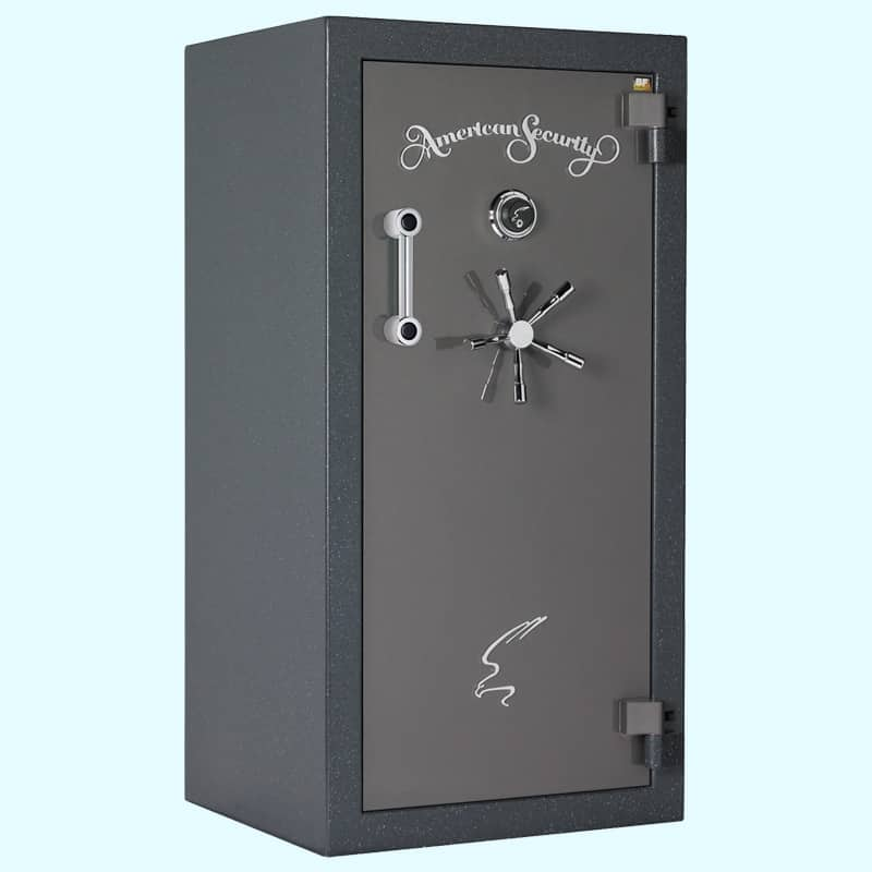 AMSEC BF 120 Minute Series Gun Safe BF6030 Closed