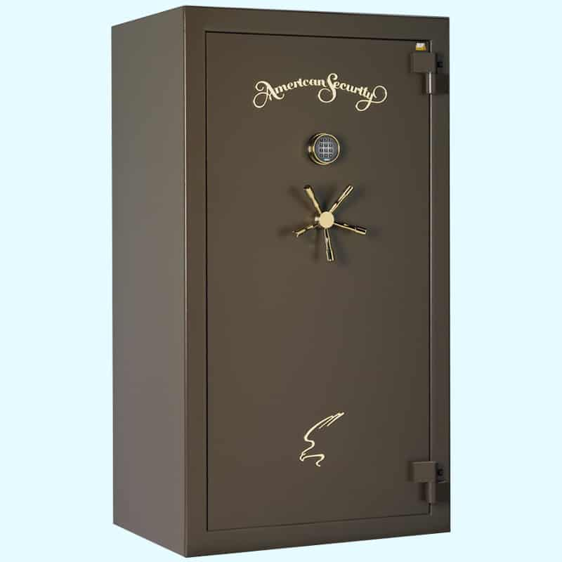 AMSEC BF 120 Minute Series Gun Safe BF6636 Closed