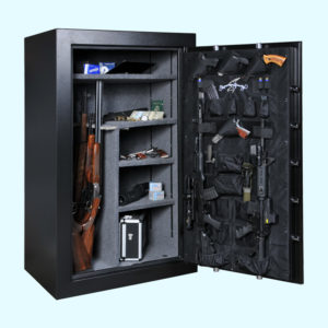 AMSEC FV 45 Minute Series Gun Safe FV6036 Open