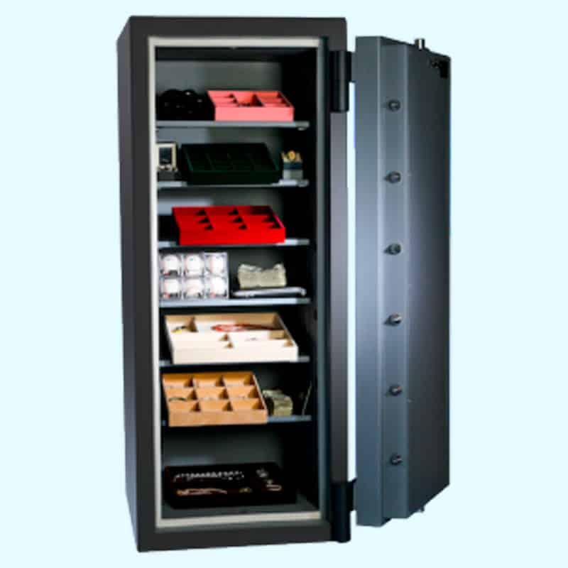 Original Safe & Vault Inc. Platinum High-Security Safe 6422x6 Open