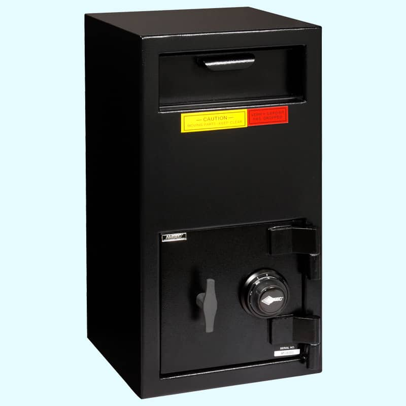 AMSEC dsf2714C depository safe closed