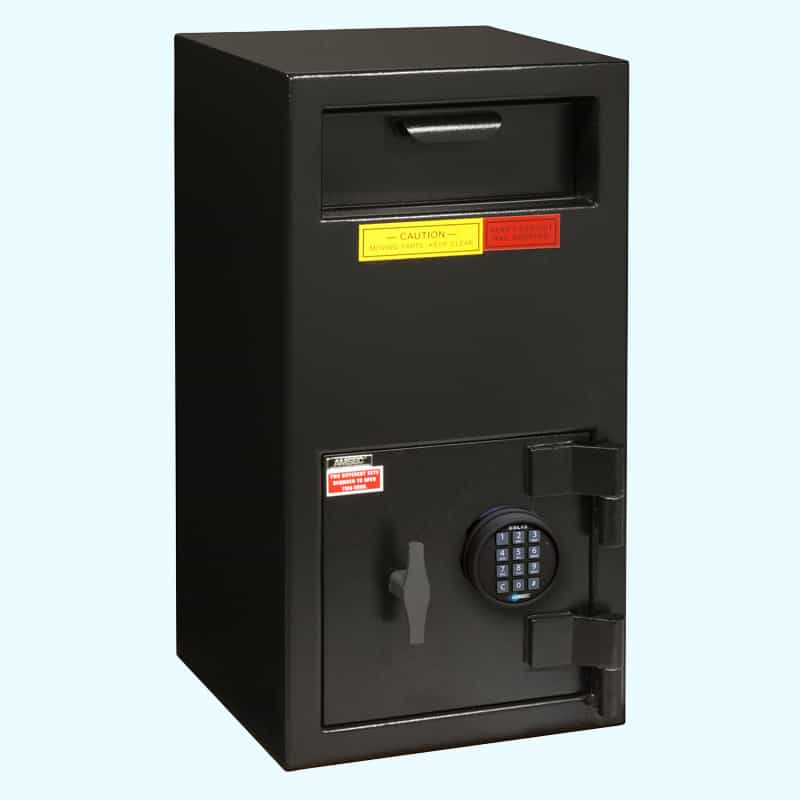AMSEC DSF2714E5 depository safe closed