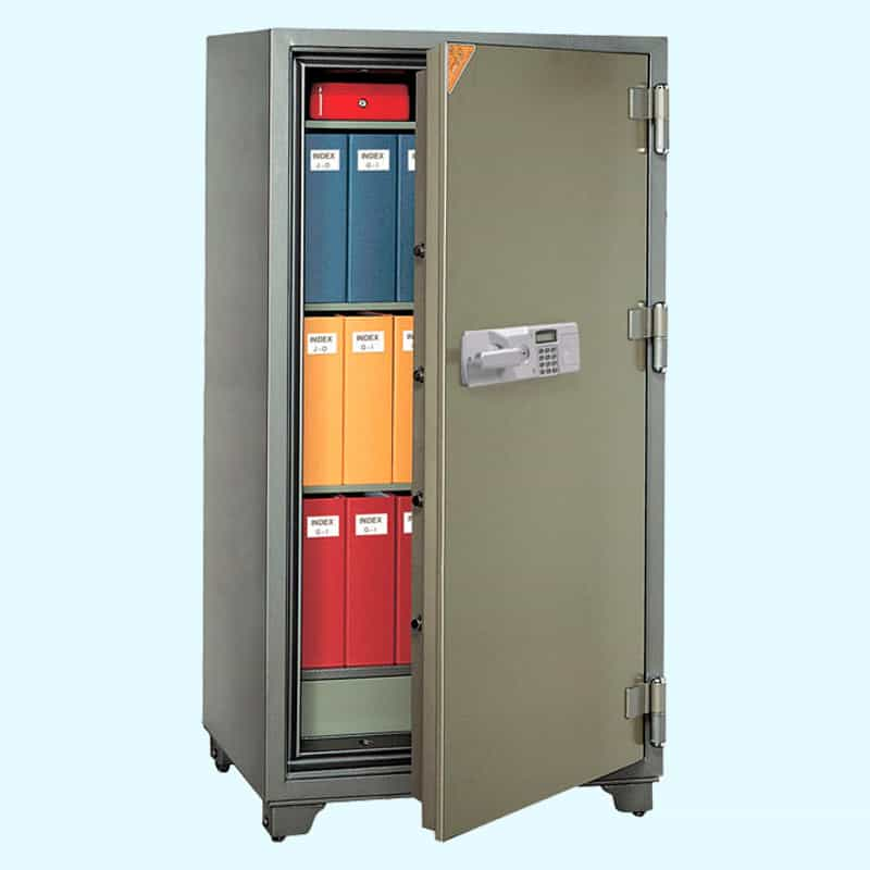 Jewel Security Two Hour Fire Safe JST1600 Open