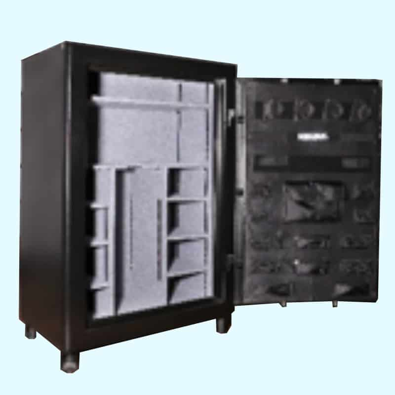 Original Safe & Vault Inc. 60 Minute Gun Safe Open