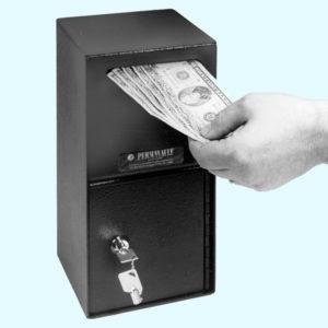 Perma-Vault Depository Safe Pro35 Closed