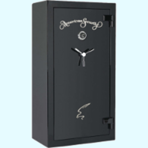 AMSEC SF 60 Minute Series Gun Fire Safe Black with Keypad Lock and 3 Point Handle.