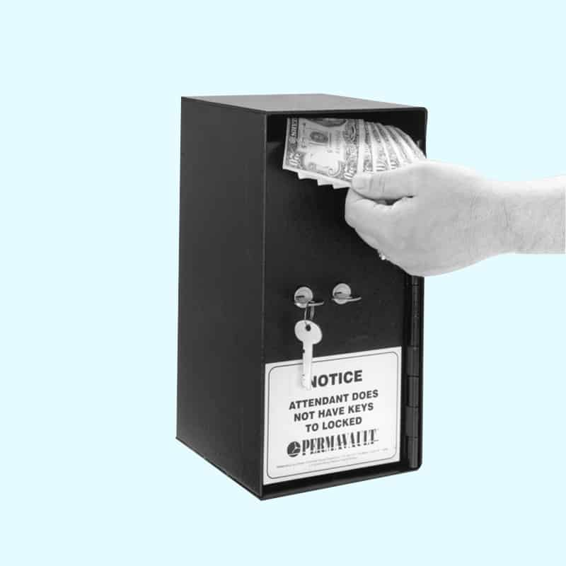 Perma Vault Cash Drop Box