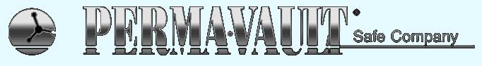 Perma-vault logo light blue