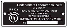 Underwriter Laboratories Safe Tag
