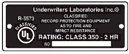 Underwriter Laboratories Safe Tag