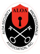 Associated Locksmiths of America (ALOA) Security Professionals Logo